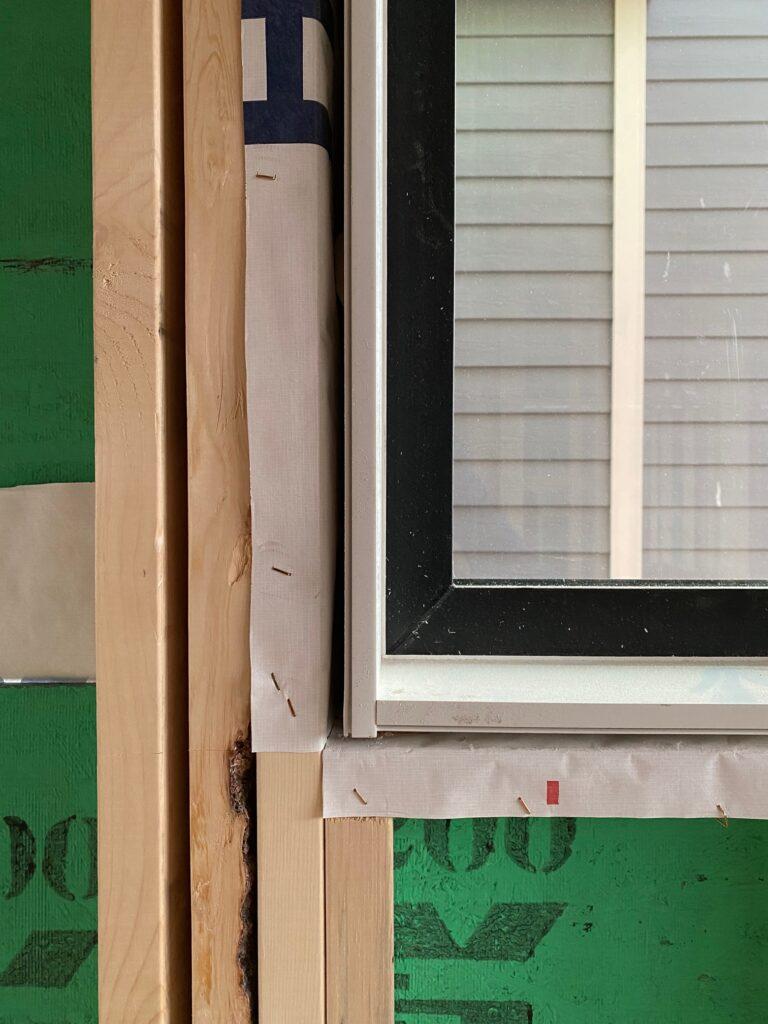 Window Vapour Barrier