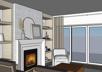 10421 81st Fireplace