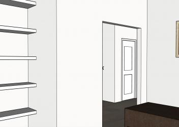 10421 81st Office Shelves