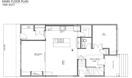 Blacklines 9806 74 Ave Main floor plan