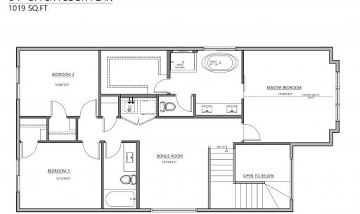 Blacklines 9806 75 Ave Upper floor plan